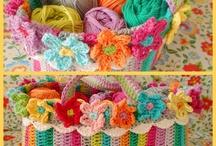 crochet - sacs, pochettes et paniers