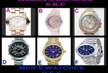 Watch Wednesday / Designer Watches for Women and Men tonight at 10 PM at OneCentChic