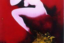Red blood art
