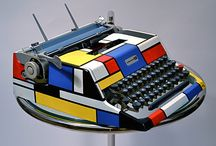 Mondrian / Mondrian art, Mondrian inspired art and objects, ideas and resources