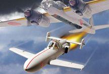 WW II Planes Japoneses y Rusos