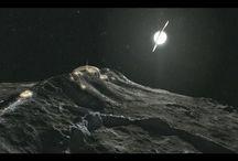 "Saturns moon ""Iapetus"""