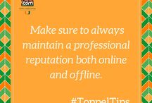 Toppel Tips / Weekly tips for success! #ToppelTips #HireACane