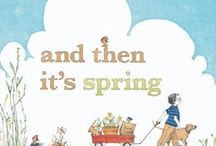 Spring Picture Books / The Carle Bookshop's favorite books to celebrate spring. / by The Eric Carle Museum of Picture Book Art