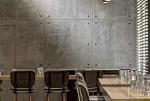Cement Feature Wall