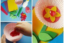 Prace plastyczne przedszkolaka