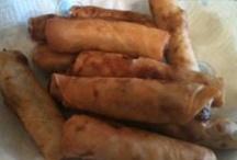 I miss my mom's cooking! Filipino food! / by Carlota