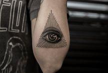 Szem tattoo