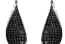 Earrings / Itay Malkin black diamond earrings