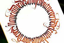 kaligrafi latin