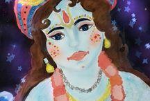 Krishna Paintings by Nidhi / krishna