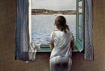 arte - Salvador Dalì (1904-1989) / arte - pittore, scultore, scrittore, cineasta, designer e sceneggiatore spagnolo