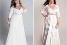 платья белые