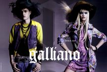 John Galliano Advertising Campaigns / JOHN GALLIANO by John Galliano  Ad Campaigns