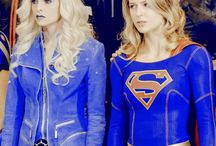 Killer frost and supergirl