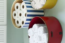 Home Organizing Tips / Ohhh I love finding cool and cute ways to keep all the areas of my house super organized!