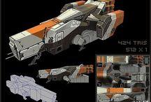 LowPoly Spaceships