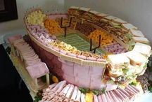 Super Bowl Sunday Party Ideas / The most creative DIY ideas for Super Bowl Sunday Football Parties are here / by Janis Brett Elspas