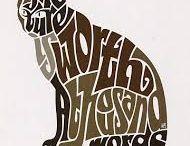 kolaż typograficzny