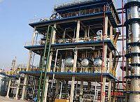 Steel frame for petrochemical fields