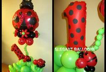 Balloons centerpieces & Decorations / by Jeannette Merced