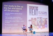 Country Heat / The new country music dance workout form autumn calabrese.  Get ready for some Country Heat!!