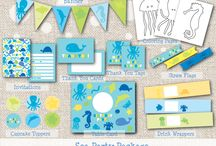 {Inspiration}  Sea Party / Find inspiration for your next under the sea, ocean creature, etc. party here!