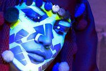 #Colorful #Makeup #Painting-Body@rt / by Barbara Marano