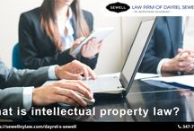 What is intellectual property law?