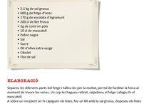 Receptes Fira 2013 / Aquestes són les receptes que a través dels ponents el nostre públic que va assistir a l'Aula del gust va poder degustar.