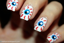 Our Halloween Nails <3 / Paznokcie na Halloween / by NeoNail Poland