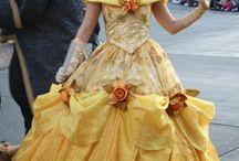Vestidos de Princesas e damas antigas
