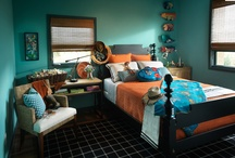 Turquoise, Rustic Red, and Grey / by Heather Scharf