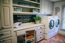 Laundry/Bathroom upgrade / by Laurie Miller