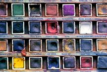 "Curiosity of Color / ""Color hovers uneasily between the subjective world of sensation and the objective world of fact""- M.Chirimuuta.   Color fuels our curiosity to discover and emotionally connects us to object, place, or time. Highly theorized for the ability to deliver context and value, fundamentally, color is a human experience. It is our individual interpretation which makes color meaningful. / by Milliken Carpet"