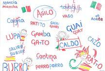 Cuidadín - Occhio / Dibujitos sobre los malentendidos y 'falsos amigos' entre italiano y español Disegnini e 'falsi amici' fra italiano e spagnolo