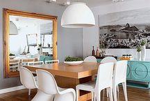Sala de jantar estilosas