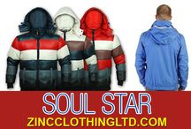 Soul Star / Zinc Clothing offers a huge collection of clothing from SoulStar. Available at wholesale prices, these apparels are truly worth having a look as they helps to create a style statement, that too at an affordable price.  http://zincclothingltd.com/product-category/mens/