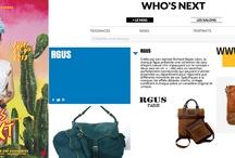 RGUS IN WHO'S NEXT / RGUS