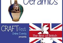 #CRAFTfest - Ceramics Category - Sept 2016 / International sellers with stalls in the Ceramics category of the September #CRAFTfest Event share with us their creations. http://www.craftfest-events.com/uk-events.html and http://www.craftfest-events.com/pride-of-america-form.html
