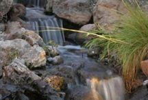 De l'eau dans le jardin / Fontaines, ruisseaux et jeux d'eau