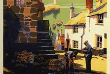 British Vintage Travel Posters