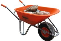 Wheelbarrow Range / •Wheelbarrows : Belle, Fort, Limex, Bragagnolo & Richard Wheelbarrows.