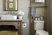 Home :: Bathrooms / Bathroom ideas bathroom, powder room, bathroom remodel, white bathroom, clean design, gray bathroom, farmhouse decor, fixer upper, bathroom organization, basement diy, basement makeover, subway tile, rustic bathroom, lighting, bathroom lighting, #fixerupper, #bathroomorganization, #bathroom, #subwaytile, #rusticbathroom, #diybathroom, #powderroom