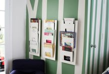 Kids Reading nook / A little area for the kids to hang out & snuggle up with a good book