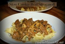 Slow Cooker Recipes / Slow cooker and crockpot recipes  / by How to Have it All
