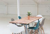 Interiors - kitchen tables