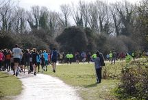Cambourne 5k multi terrain race / One loop of cambournes beautiful nature trail
