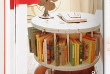 cable furniture / fantasic spool tables