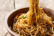 Noodles / Italian. Thai. Korean. Japanese. Noodle recipes to satisfy any craving.